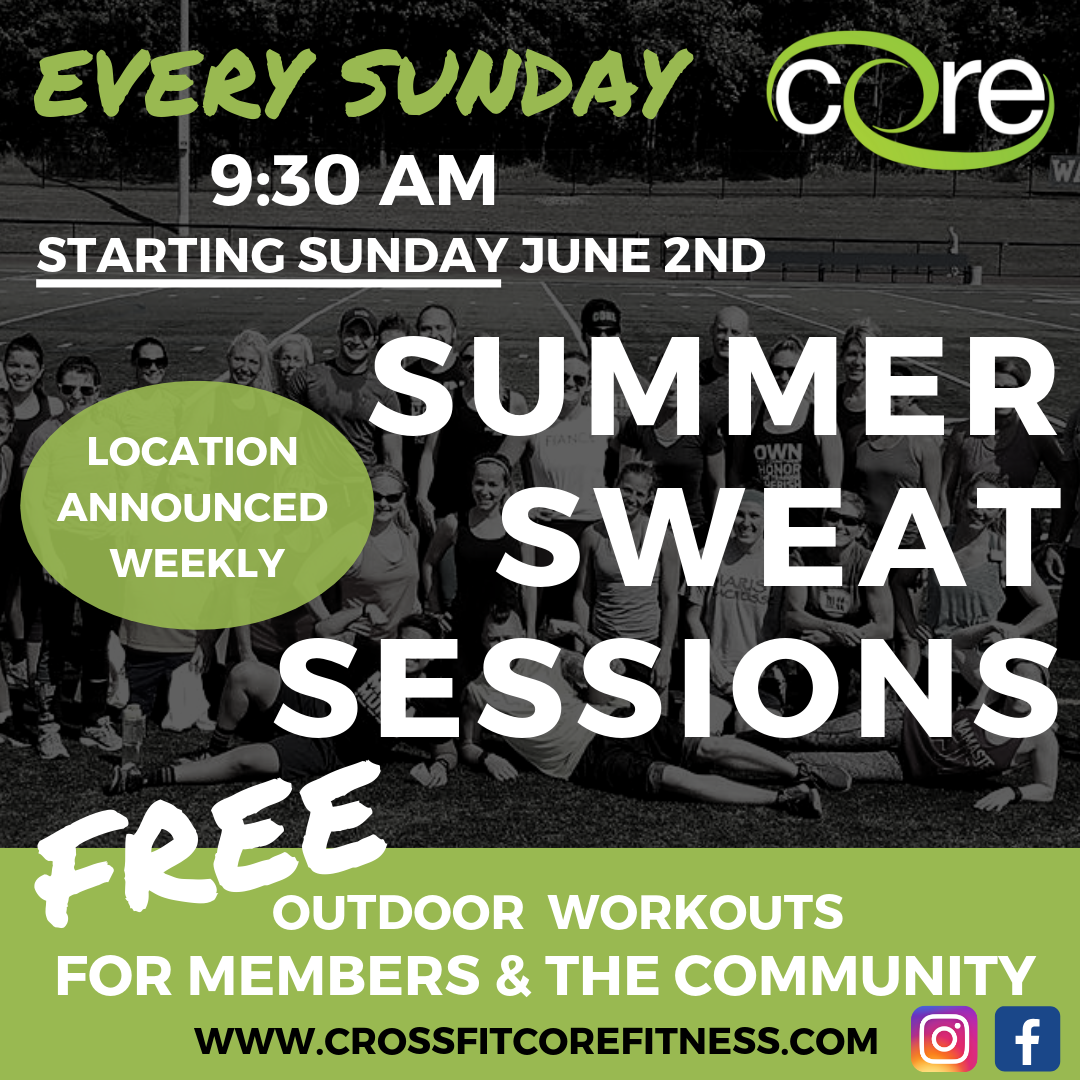 SUMMER SWEAT SESSIONS